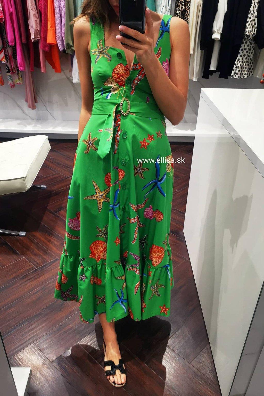 Košeľové šaty OCEAN green