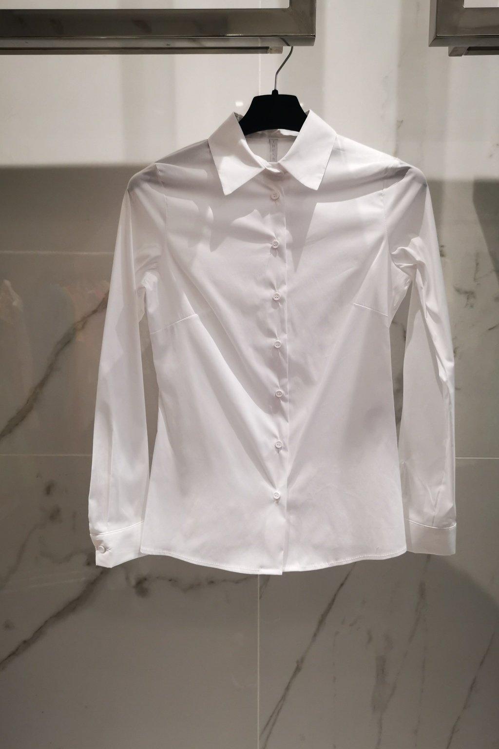 Košeľa clasic white