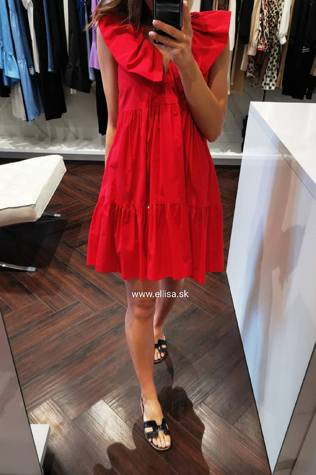 Letné šaty RED