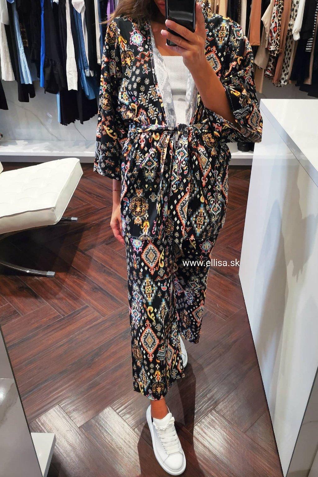 Kimono set čierny