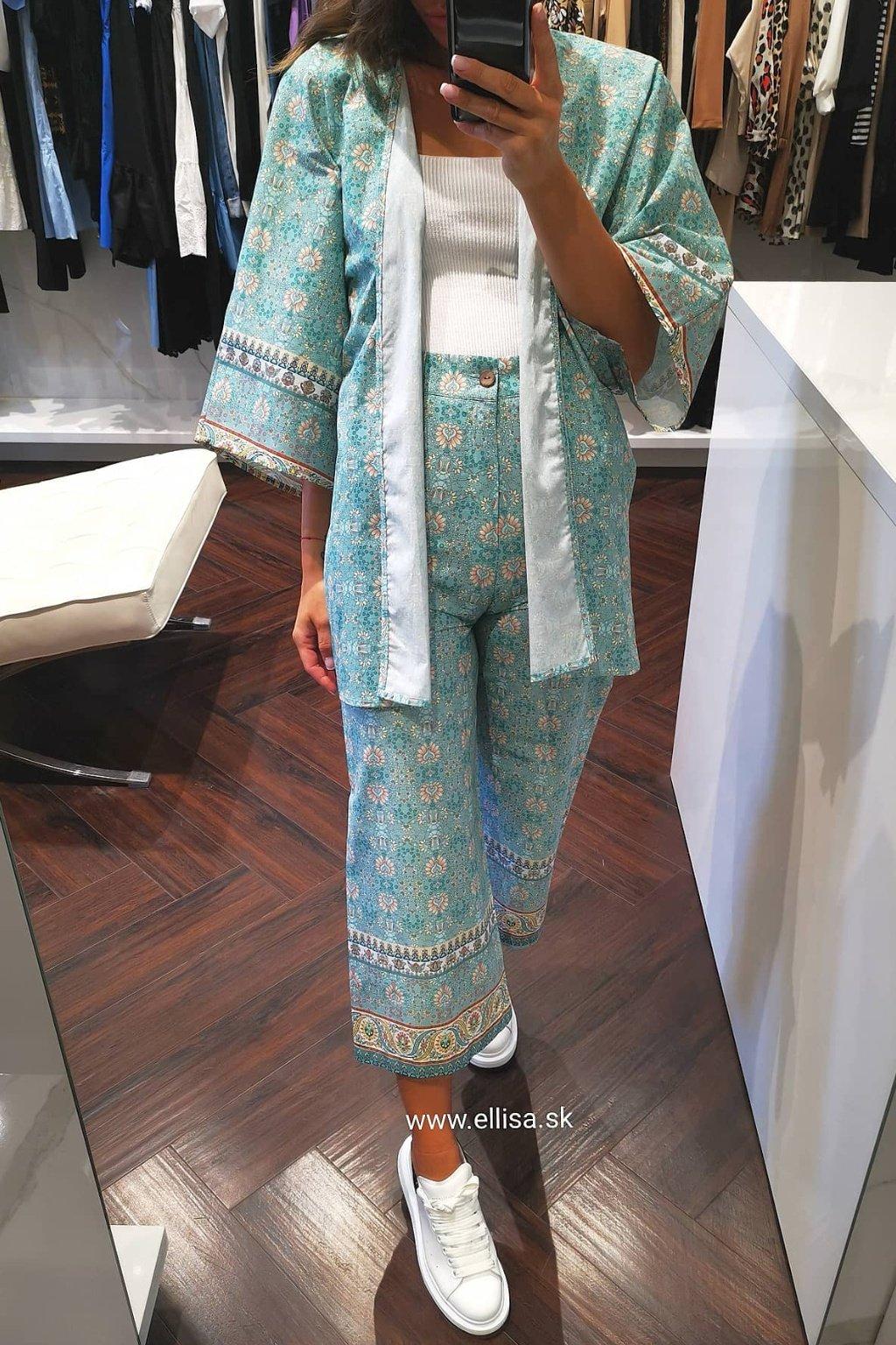 Kimono set bledo zelený