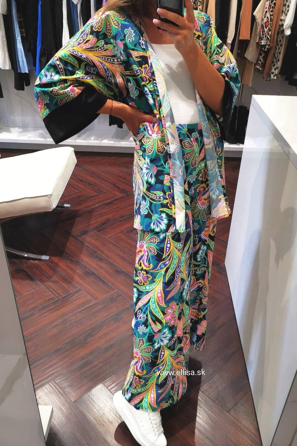 Kimono kvetované UNI