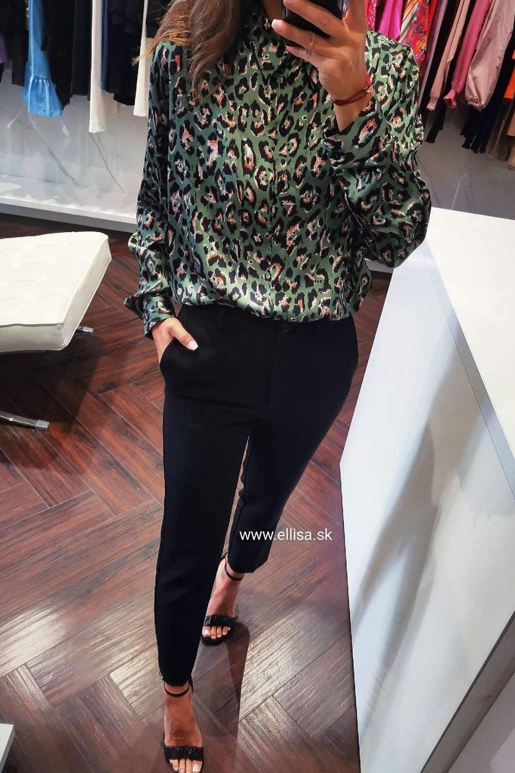 Nohavice klasik čierne