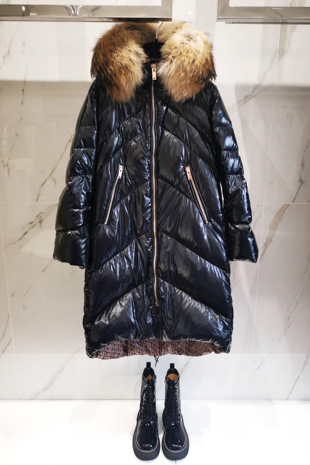 Zimná bunda FLO CLO čierna