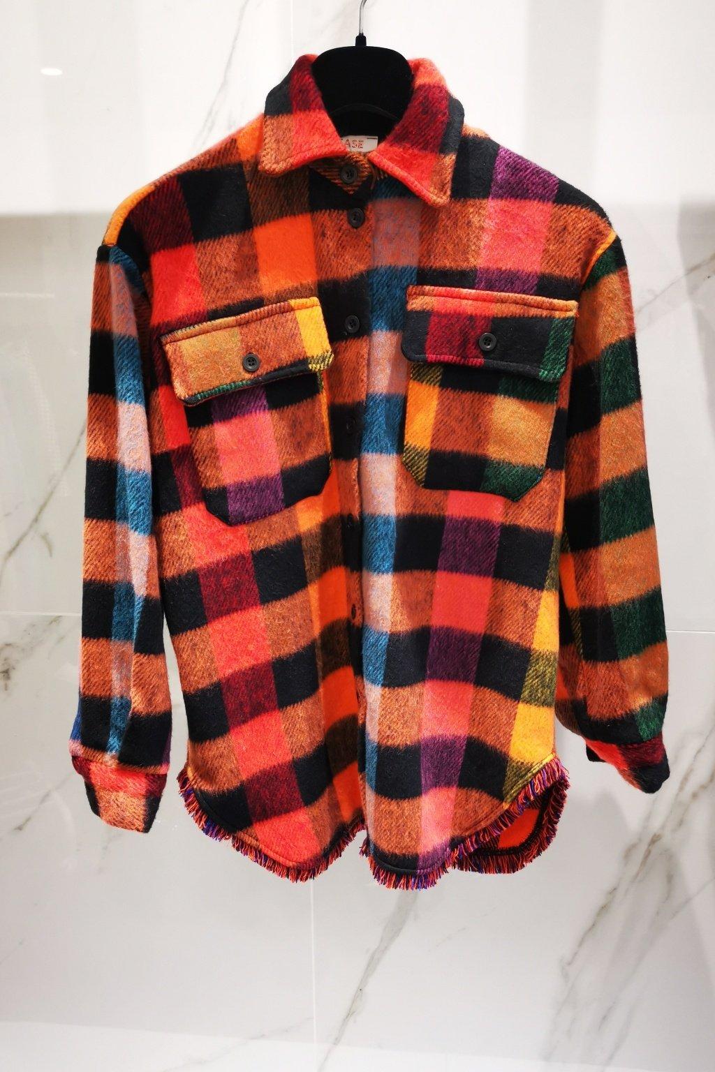 Károvaná košeľa farebná