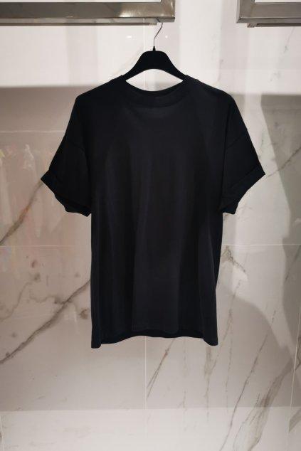 Voľné basic tričko black