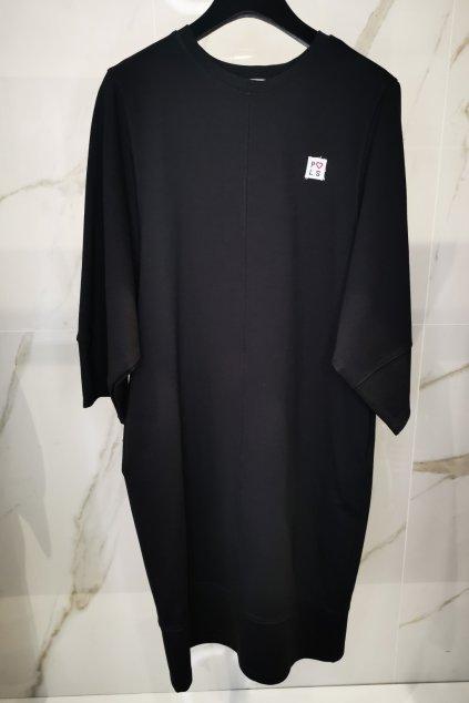 Športové šaty čierne