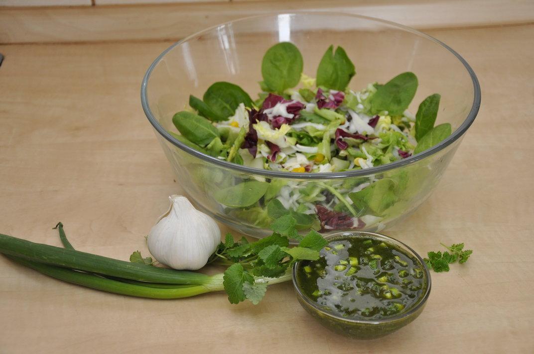 Recept - zálivka se zeleným ječmenem