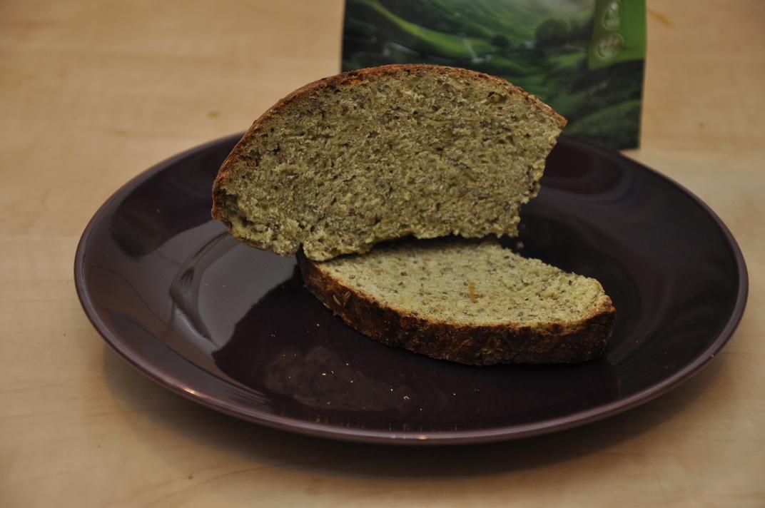 Recept - domácí chleba se zeleným ječmenem
