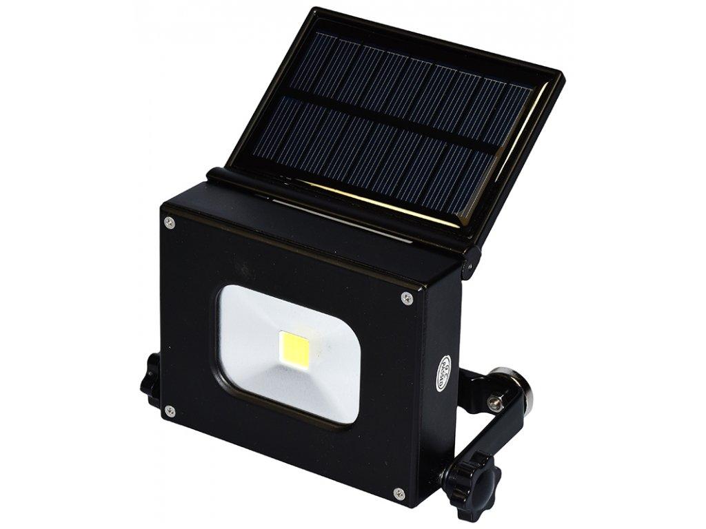 reflektor mini LED kapesní 10W solární