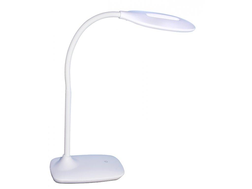 LED stolní lampička SWAN bílá