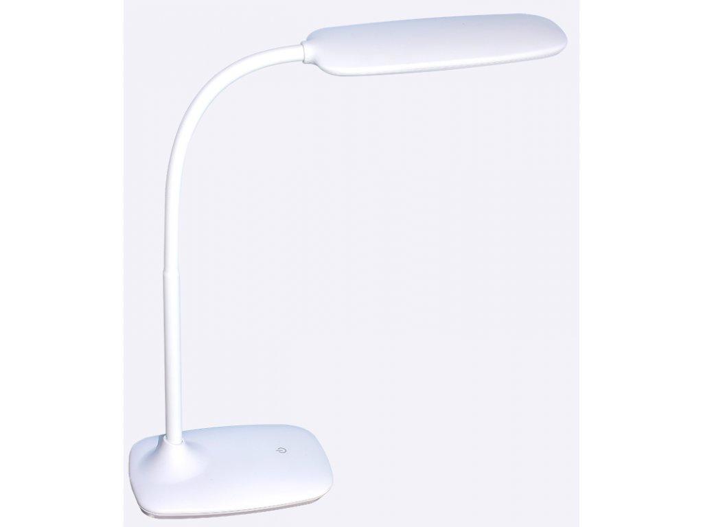 LED stolní lampička MIRROR bílá