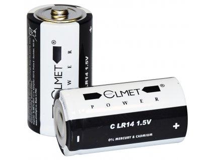 baterie alkalická malý monočlánek C LR14