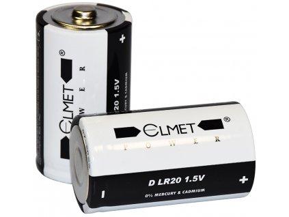 baterie alkalická velký monočlánek D LR20