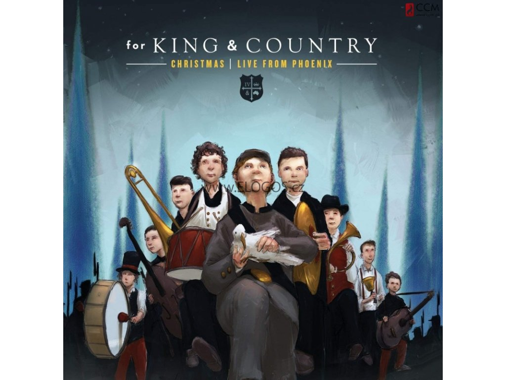 CD-For King  a  Country - Christmas Live From Phoenix
