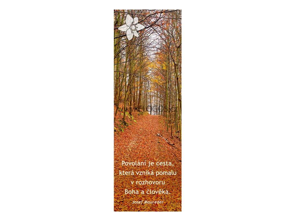 Záložka do knihy -Duchovní tematika