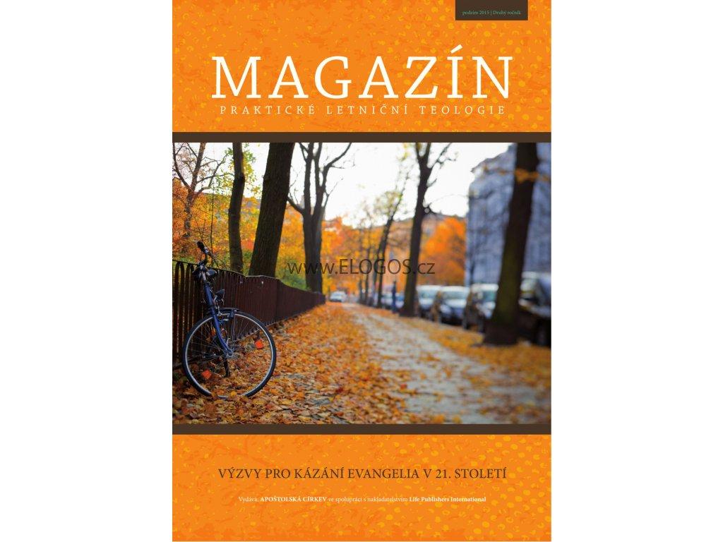 Magazín praktické letniční teologie Podzim 2015