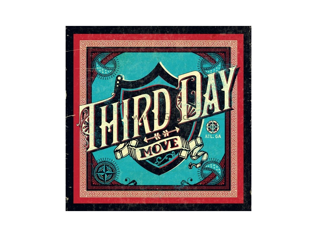 CD- Third Day - Move