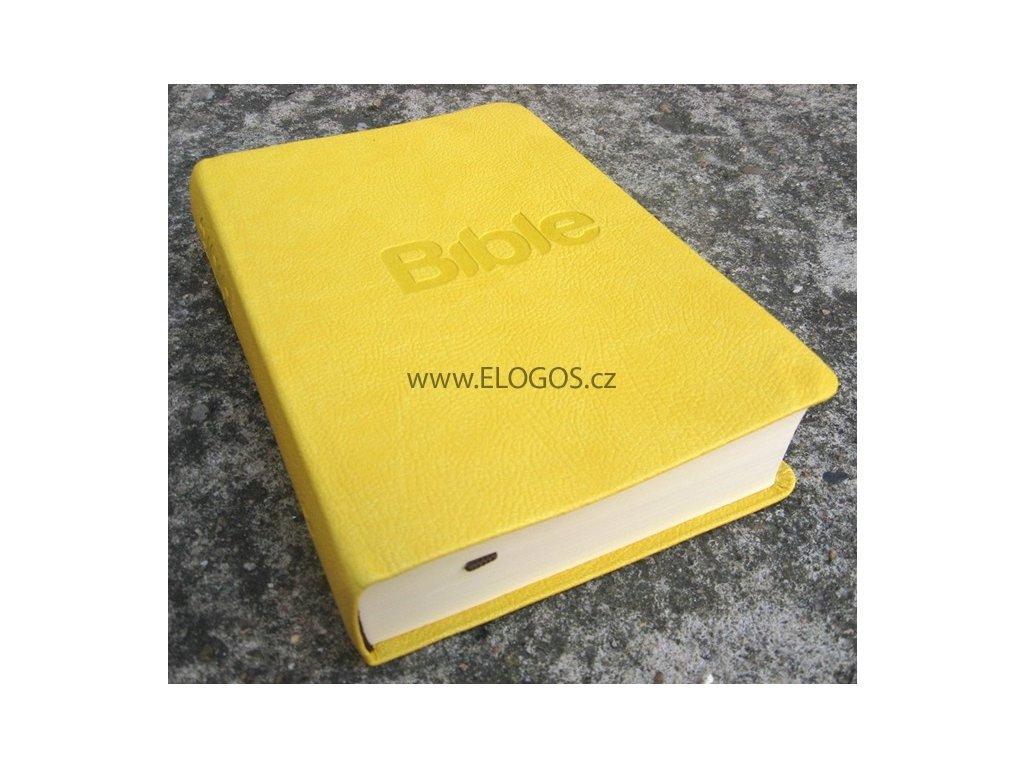 Bible: překlad 21.století (charme žlutá)