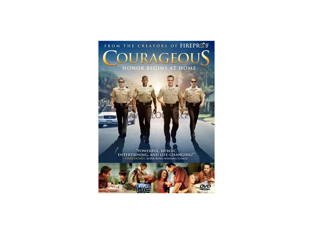 Courageous (DVD) -dabing PL