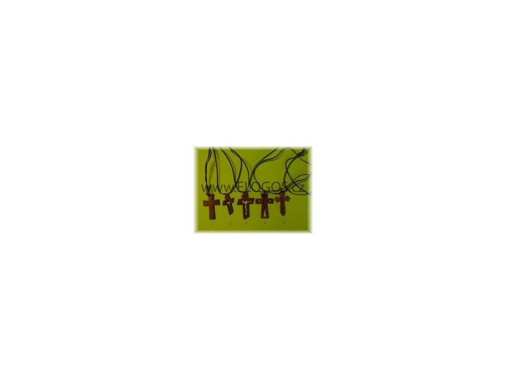 Nahrdelník-dřevěný křížek -mix1