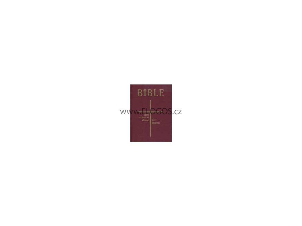 česká synoptická Bible (ekumenická/kralická)