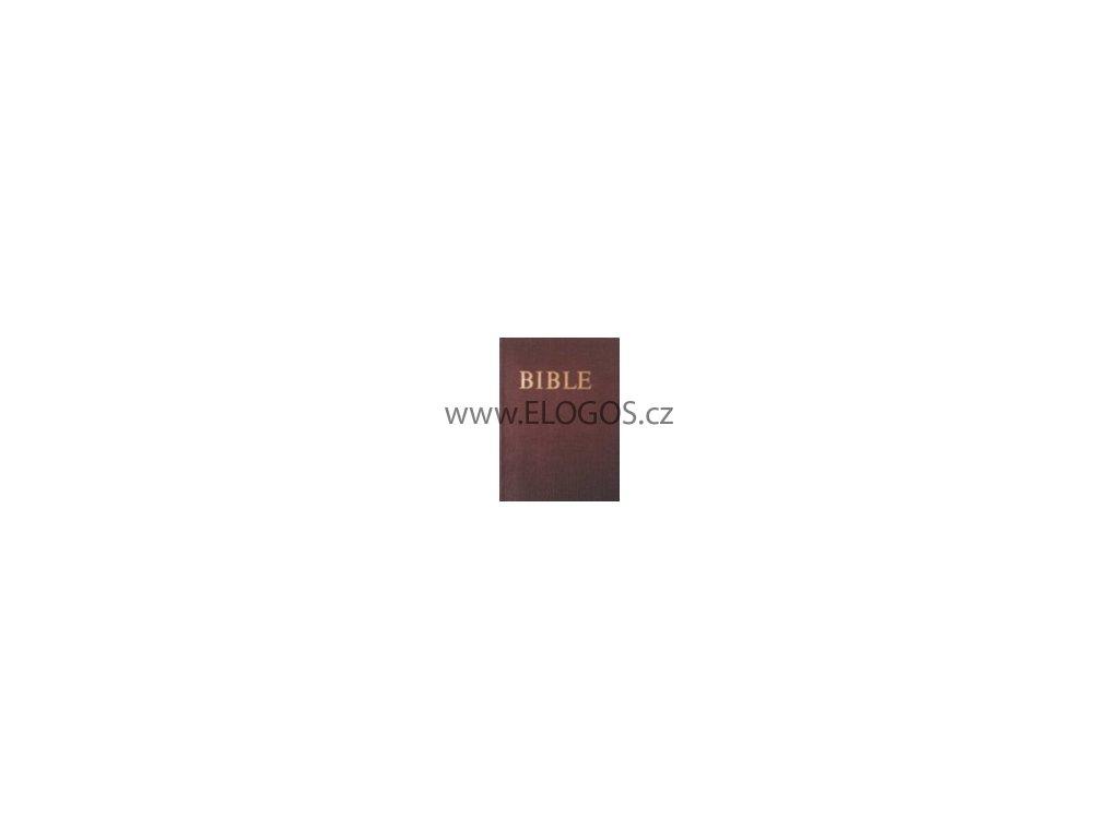 Bible-český ekumenický překlad, vydání bez deuterokanonických kn
