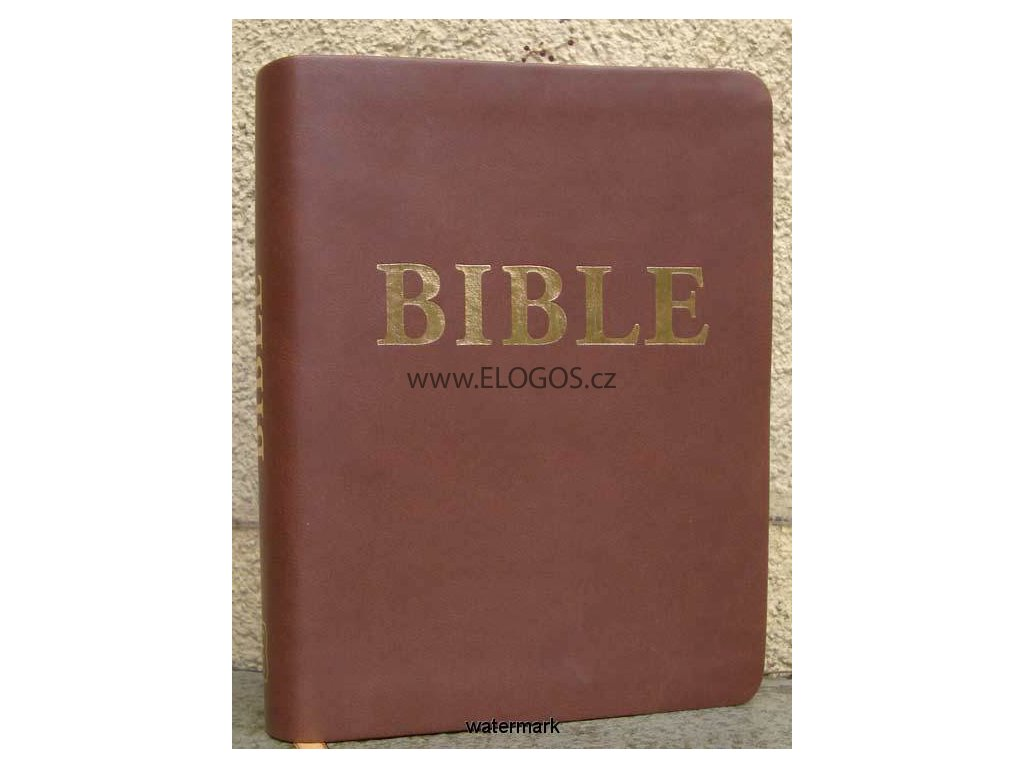 Bible čEP bez DT - PU kůže