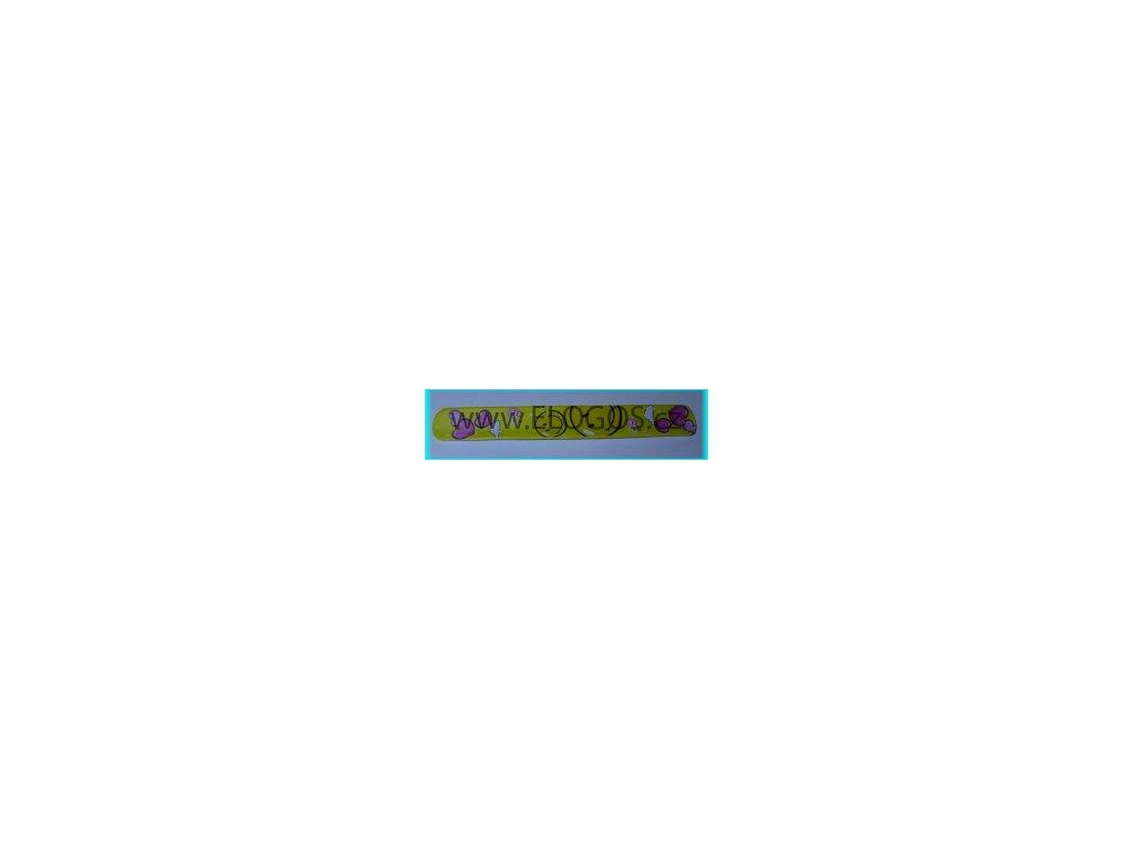 Náramek - svinovací smajlík