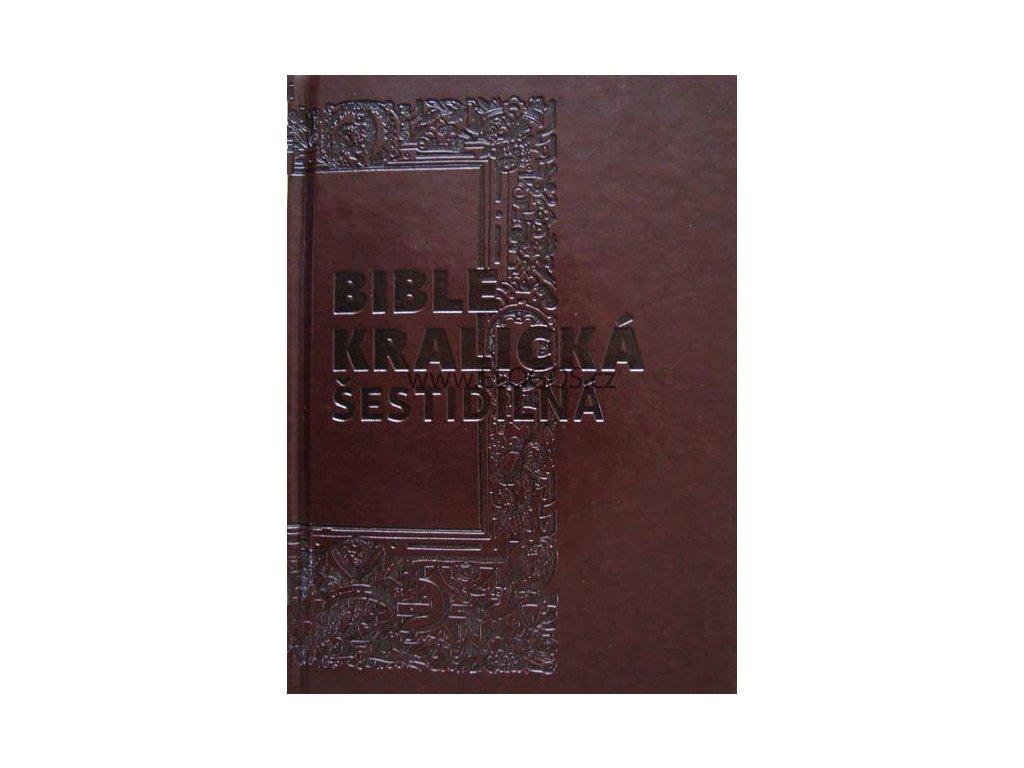 Bible kralická šestidílná - základní verze