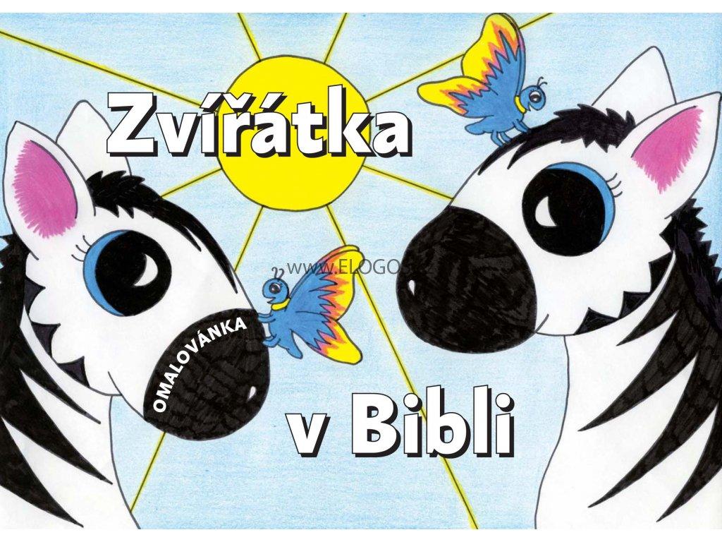 Omalovánka se zvířátky z Bible