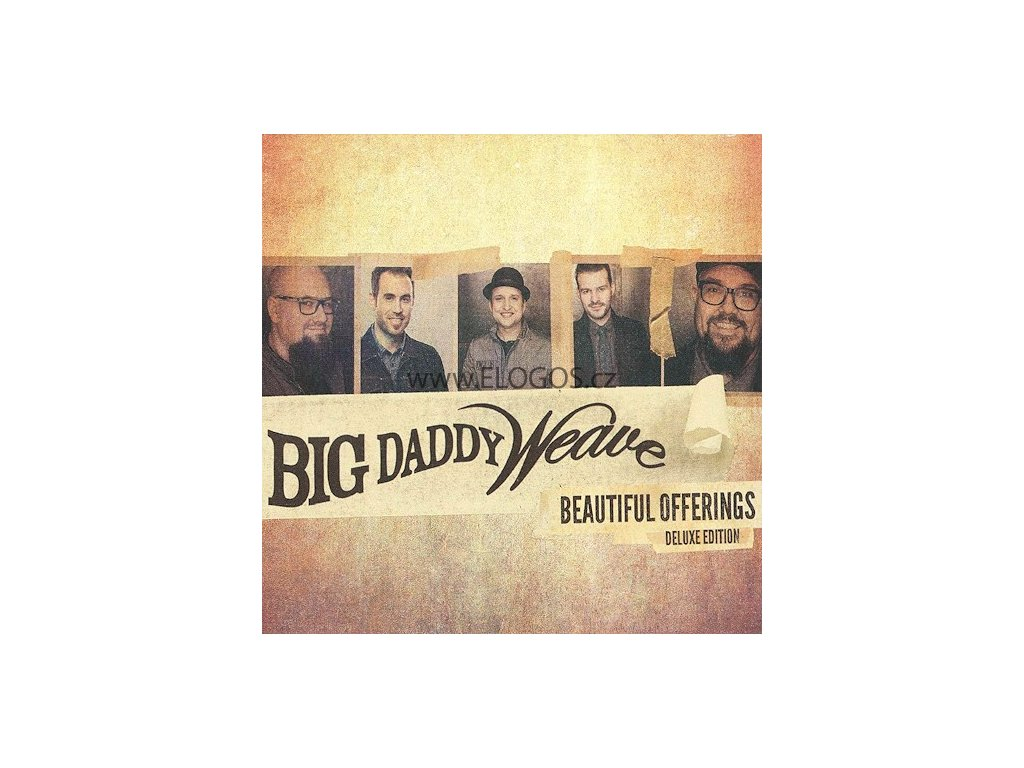 CD- Big Daddy Weave - Beautiful Offerings Deluxe Edition