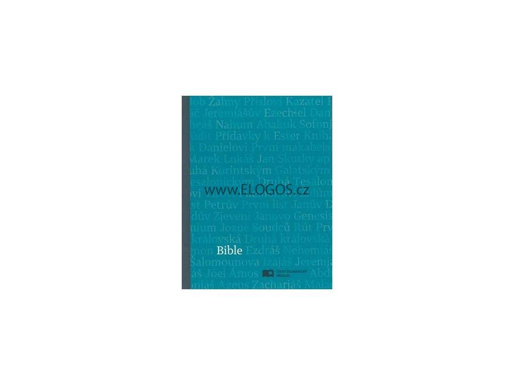 Bible čEP DT malá, měkká, modrá