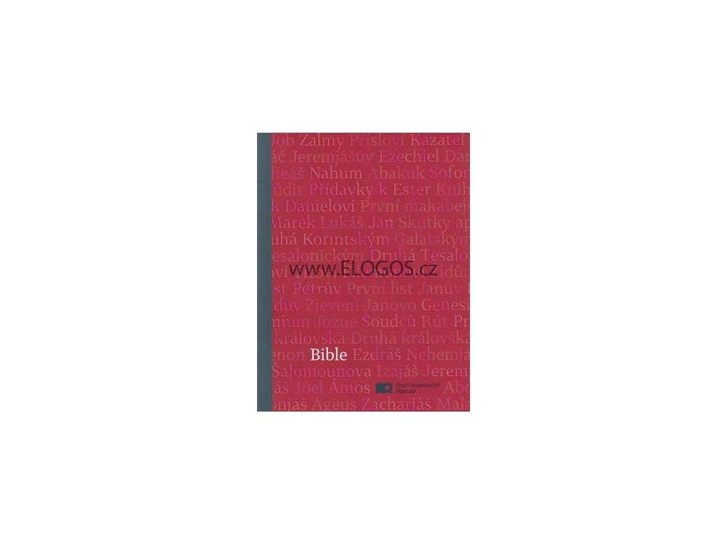 Bible čEP DT malá, měkká, červená