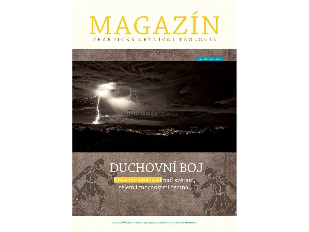 Magazín praktické letniční teologie Jaro 2015