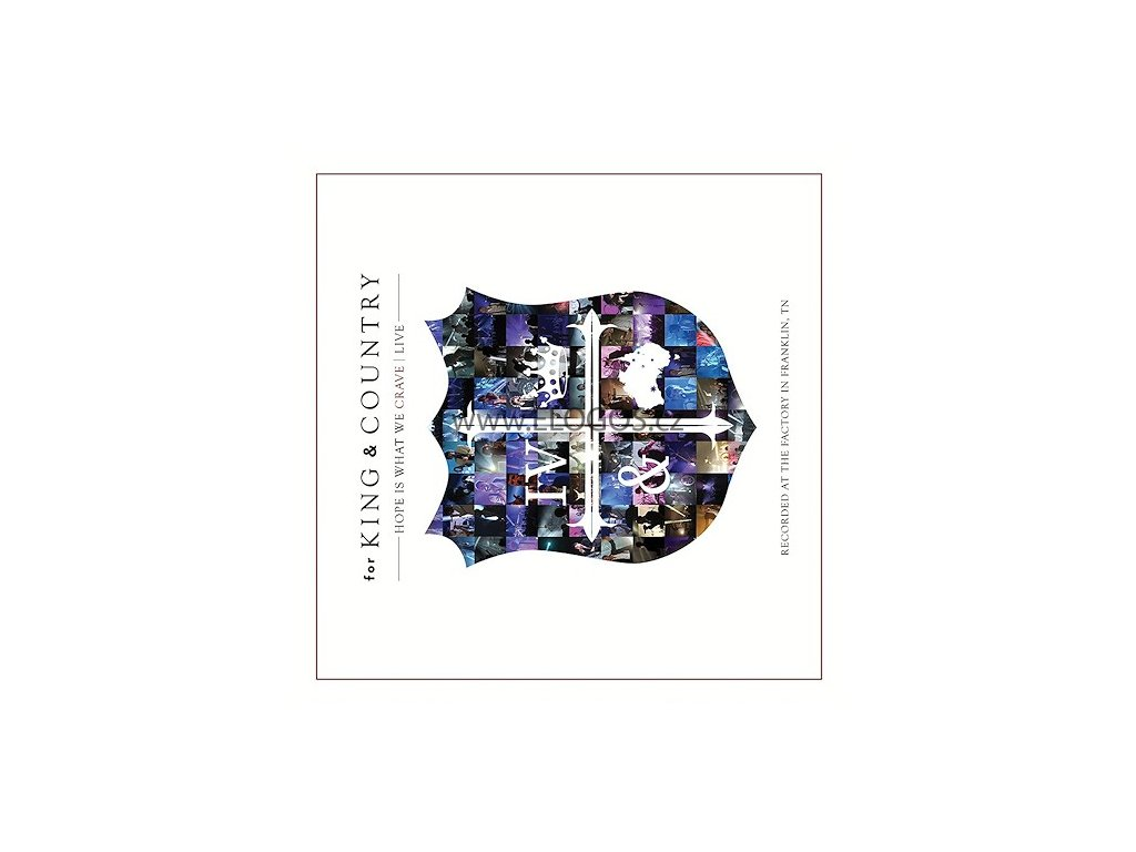 CD- For King  a  Country - Hope Is What We Crave Live (CD plus DVD)