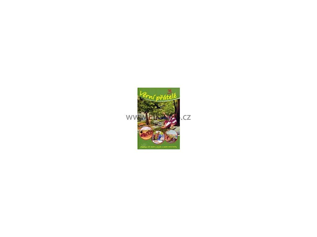 Věrní přátelé - 3 ( plus CD ROM s puzzle a audioverzí knihy)