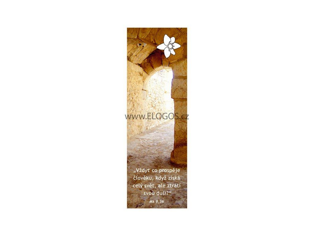 Záložka do knihy - S biblickým veršem