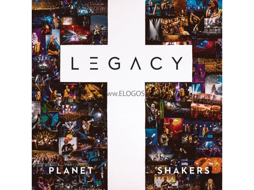 CD plus DVD - Planetshakers - Legacy (CD plus DVD)