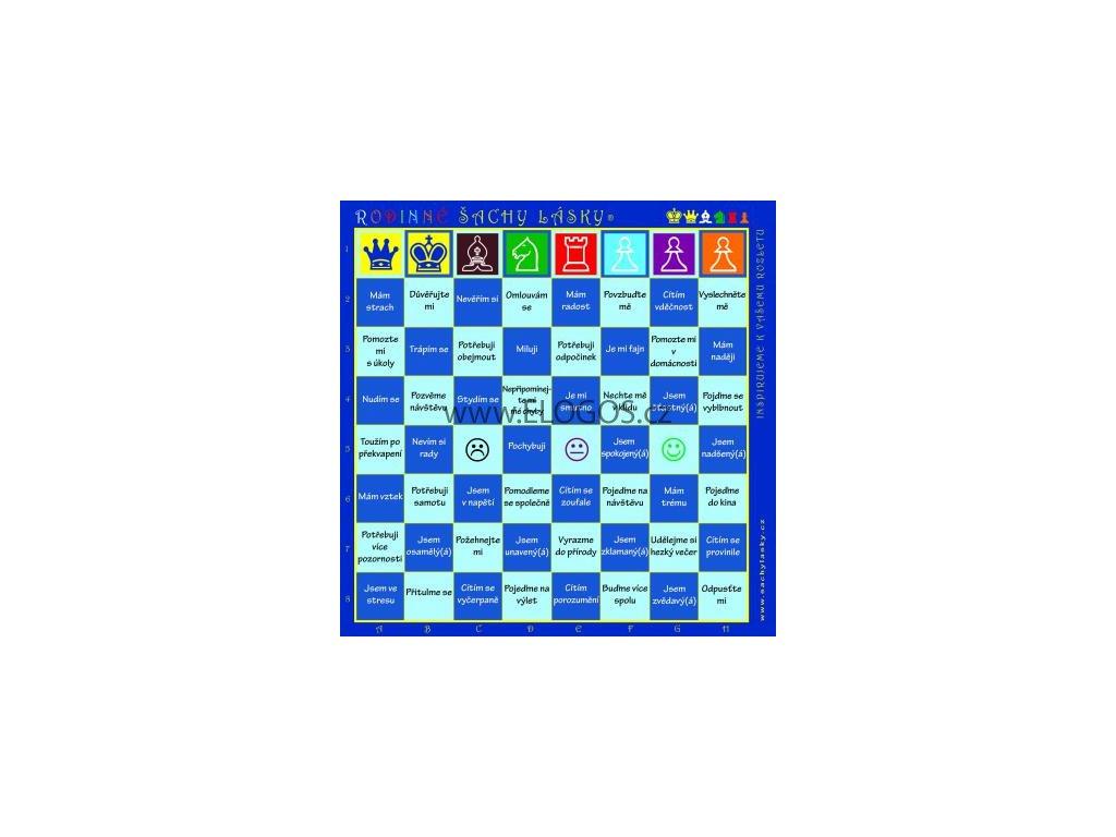 Rodinné šachy lásky