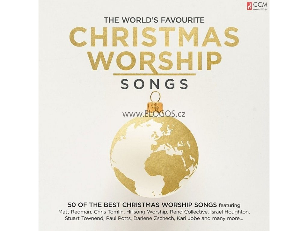 CD-The World's Favourite Christmas Worship Songs (3xCD)