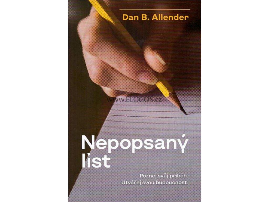 Nepopsaný list  - Allender Dan B.