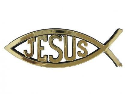 náramek samonavíjecí - Jesus is my BFF