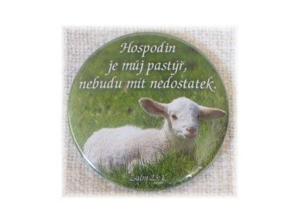Placka 50mm - Hospodin je můj pastýř