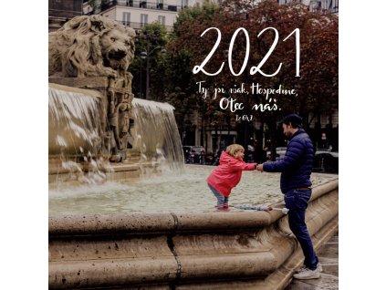 Nástěnný kalendář - Ty jsi však Hospodin, Otec náš 2021