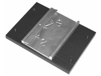 Držák 3f relé s kleštinou na DIN lištu 0t/3fk