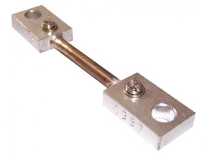 100A proudový bočník 100A/75mV, přesnost 0,5%