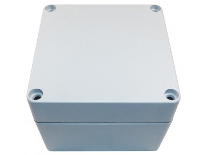Hliníková skříňka 474 - šedá
