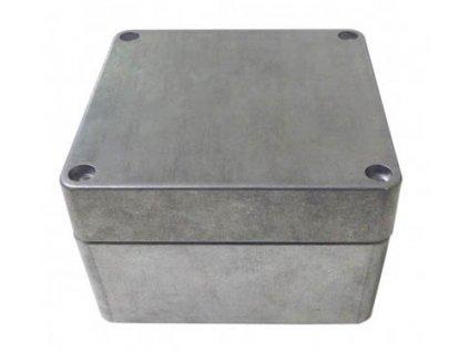Hliníková skříňka 447 - šedá