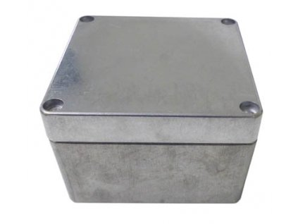 Hliníková skříňka 470 - šedá